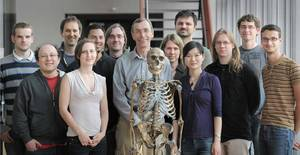 Pääbo's Neandertal research group