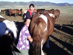central asian herders